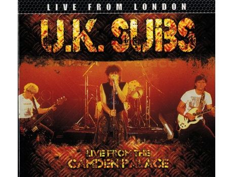 CD U.K. Subs - Live From The Camden Palace