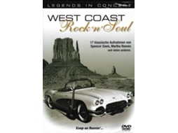 DVD Legends In Concert: West Coast Rock 'N'Soul