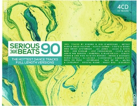 CD Serious Beats 87 (4CDs)