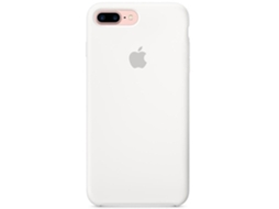 Capa APPLE Slicone iPhone 7 Plus, 8 Plus Branco — Compatibilidade: iPhone 7 Plus, 8 Plus
