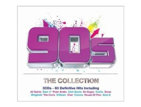 CD The Collection - 90`s — Pop-Rock
