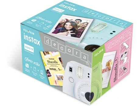 Kit FUJIFILM Instax Decora Mini 9 Ice Blue — Obturador: 1/60 sec