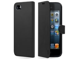Capa SBS Book iPhone 5, 5s, SE Preto — Compatibilidade: iPhone 5, 5s, SE