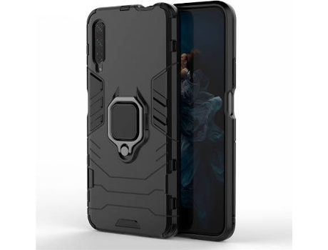Capa Honor 9X, 9X Pro PHONECARE Militar Ring Anti-Impacto Defender Preto