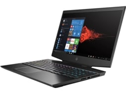 Portátil Gaming HP Omen 15-DH0006NP - 7KA13EA (15.6'' - Intel Core i7-9750H - RAM: 16 GB - 512 GB SSD - NVIDIA GeForce RTX 2060) — Windows 10 Home | Full HD