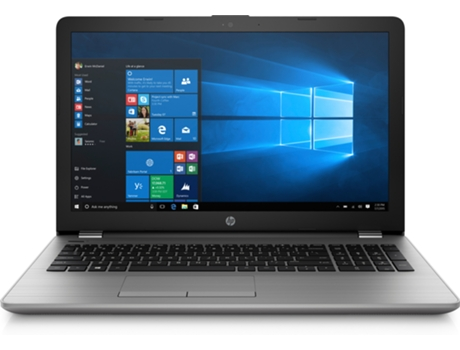 Portátil 15.6'' HP 250 G6 Prateado — Intel Core i5-7200U | 8 GB | 256 GB SSD | Intel HD Graphics 620