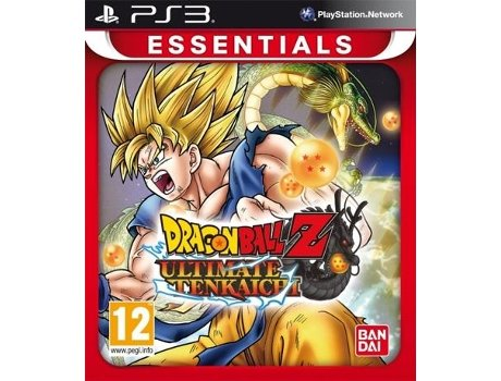 Jogo PS3 Dragon Ball Z:Ultimate Tenkaichi - Essentials — Luta | Idade Mínima Recomendada: 12