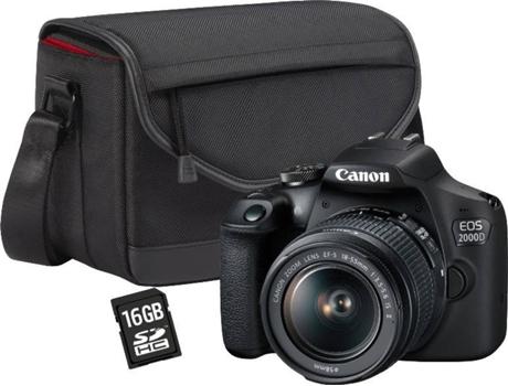 C FOT CANON EOS 2000D 18-55 DC+SB130+16G | [6983720 ]