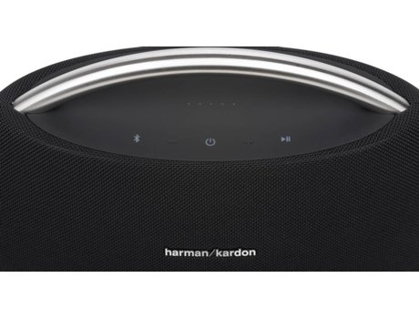 Coluna Bluetooth HARMAN Mini Go + Play (Preto - 4X25 W - Autonomia: 3 horas) — Bluetooth | 25W | Bateria: até 3h