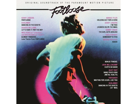 CD Vários - Footloose (BSO) — Banda Sonora