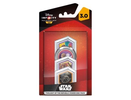 Disney Infinity 3.0 Star Wars Power Disc Clone Wars (pack de 4) — Coleção: Star Wars