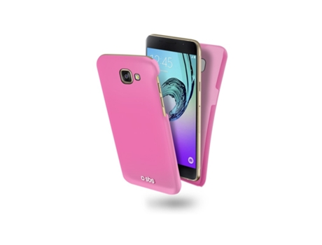 Capa SBS Color Feel Samsung Galaxy A5 2016 Rosa — Compatibilidade: Samsung Galaxy A5 2016