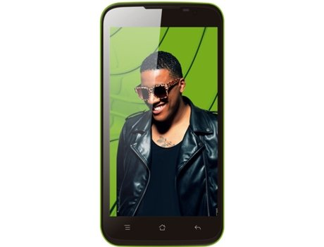 Smartphone BLING One 8 GB Verde — Android 4.4 | 5'' | Octa Core 1.4GHz | 1GB RAM | Dual SIM