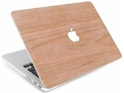 Capa WOODACESSORIES EcoSkin (MacBook - 12'' - Rosa) — Compatibilidade: MacBook 12''