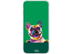 Capa LG V50 ThinQ 5G TECHCOOL Bulldog Verde