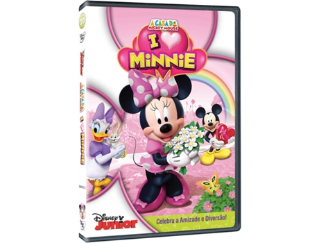 DVD A Casa do Mickey Mouse - I Heart Minnie — Infantil