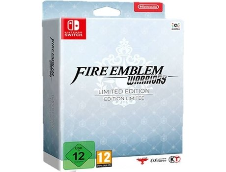 Jogo Nintendo Switch Fire Emblem Warriors (Limited Edition) — Ação | Idade mínima recomendada: 12