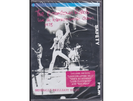 DVD The Boomtown Rats - Live At Hammersmith Odeon 1978