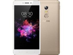 Smartphone TP-LINK Neffos X1 32GB Sunrise Gold — Android 7 | 5'' | Octa-Core | 3 GB RAM | Dual SIM Híbrido