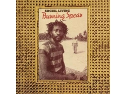 Vinil Burning Spear - Social Living/Living Dub — Pop-Rock