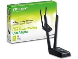 Adaptador Wireless TP-Link 300Mbps High P USB WN8200ND — Adaptador USB / 300 Mbps