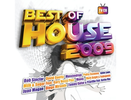 CD Vários-Best Of House 2009 — House / Electrónica