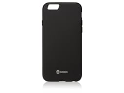 Capa GOODIS Rubber iPhone 6, 6s Preto — Compatibilidade: iPhone 6, 6s, 7 ,8