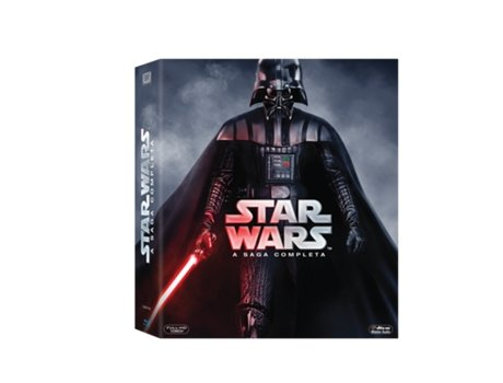 Blu-Ray Star Wars - A Saga Completa - Darth Vader — Do Realizador: George Lucas
