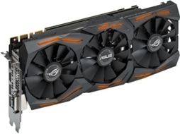 Placa Gráfica ASUS GeForce GTX 1080 (NVIDIA - 8 GB DDR5) — GeForce GTX 1080 | 1784 MHz | 8GB DDR5X