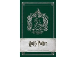 Caderno Pautado INSIGHTS Harry Potter Slytherin de Capa Dura