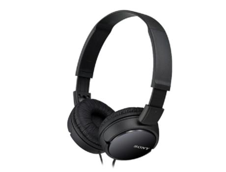 Auscultadores Com fio SONY MDRZX110 (On Ear - Preto) | [5423973 ]
