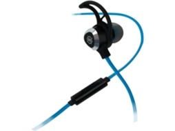 Microauscultadores ENHANCE Vibration In-Ear em Preto — 100-10000 Hz