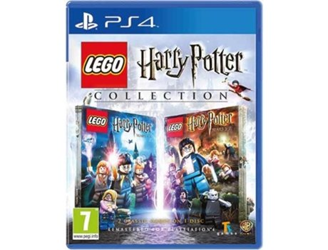 Jogo PS4 Lego Harry Potter Collection — Ação/Aventura | Idade mínima recomendada: 7