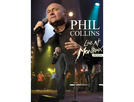 DVD Phil Collins - Live At Montreux 2004