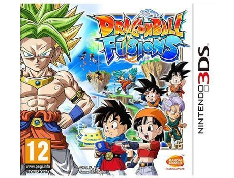 Jogo Nintendo 3DS Dragon Ball Fusions