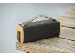Coluna Bluetooth HOUSE OF MARLEY Riddim Preto — Bluetooth