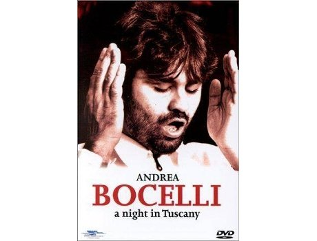 CD+DVD Andrea Bocelli - A Night in Tuscany — Clássica
