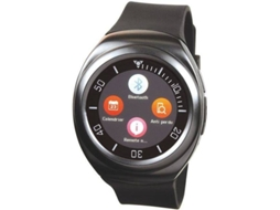 Smartwatch CLIPSONIC TEC593 Preto — Bluetooth | 100 mAh | Android e iOS