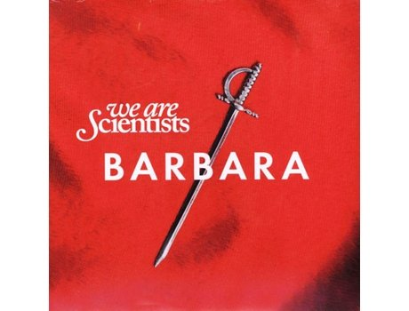 CD We Are Scientists - Barbara