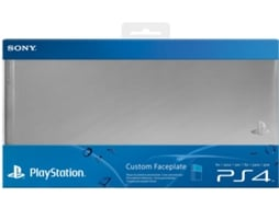 Cover SONY PS4 Faceplate Silver — PS4
