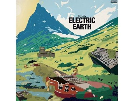 CD Gin Lady - Electric Earth