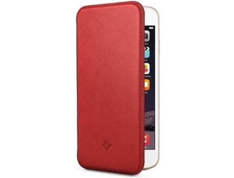 Capa iPhone 6, 6s, 7, 8 TWELVE SOUTH SurfacePad Vermelho