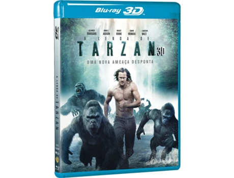 Pack Blu-Ray A Lenda de Tarzan 3D + 2D — Do realizador David Yates