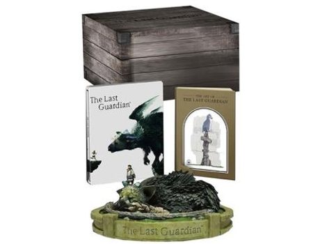Jogo PS4 The Last Guardian (Collector's Edition) — Ação/Aventura / Idade mínima recomendada: 12