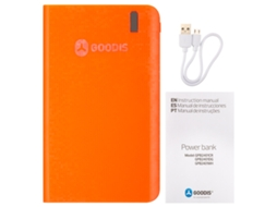 Powerbank GOODIS Spark Coral — 6000 mAh