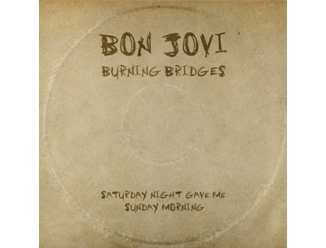 CD Bon Jovi - Burning Bridges — Pop-Rock