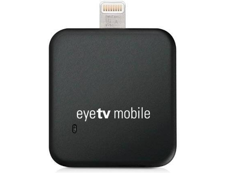Sintonizador de TV ELGATO EyeTV Mobile Lightning — Compatibilidade: iPad, iPhone 5,6,7 e 8