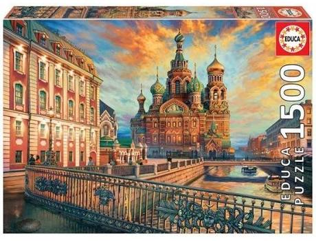 JOGOS E BRINQUEDOS KIDS - Puzzle São Petersburgo 1500 Peças
