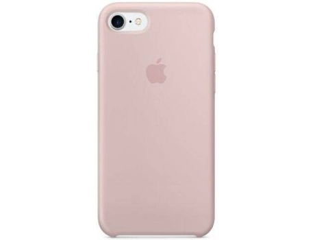Capa APPLE Silicone iPhone 7 Rosa — Compatibilidade: iPhone 7