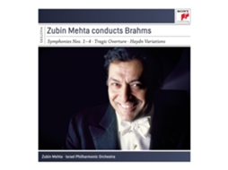 CD Zubin Mehta - Conducts Brahms — Clássica